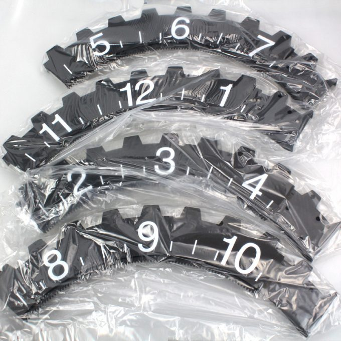 Creative Fashion Wheel Clock (2)