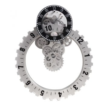 Creative Fashion Wheel Clock (6)