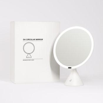 Oa Circular Mirror White