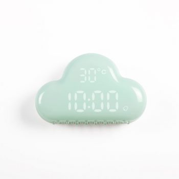 Cloud Alarm Clock Green