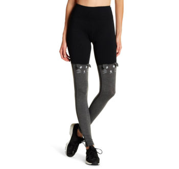 Kitty Two Color Legging Prjon