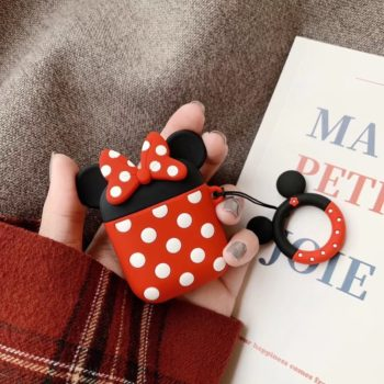 Airpods Silicone Protective Case Minnie