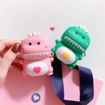 Airpods Silicone Protective Case Dinosaur