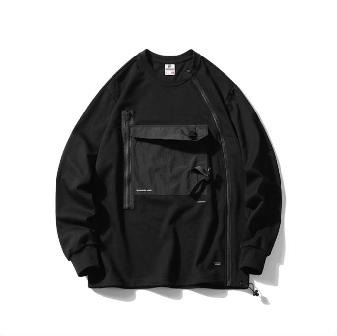 Multi Pockets Hoodies Pullovers Loose Hip Hop Streetwear