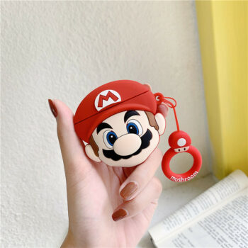 Airpods Silicone Protective Case Mario
