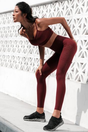 Women's High Waist Tight Stretch Gym Leggings